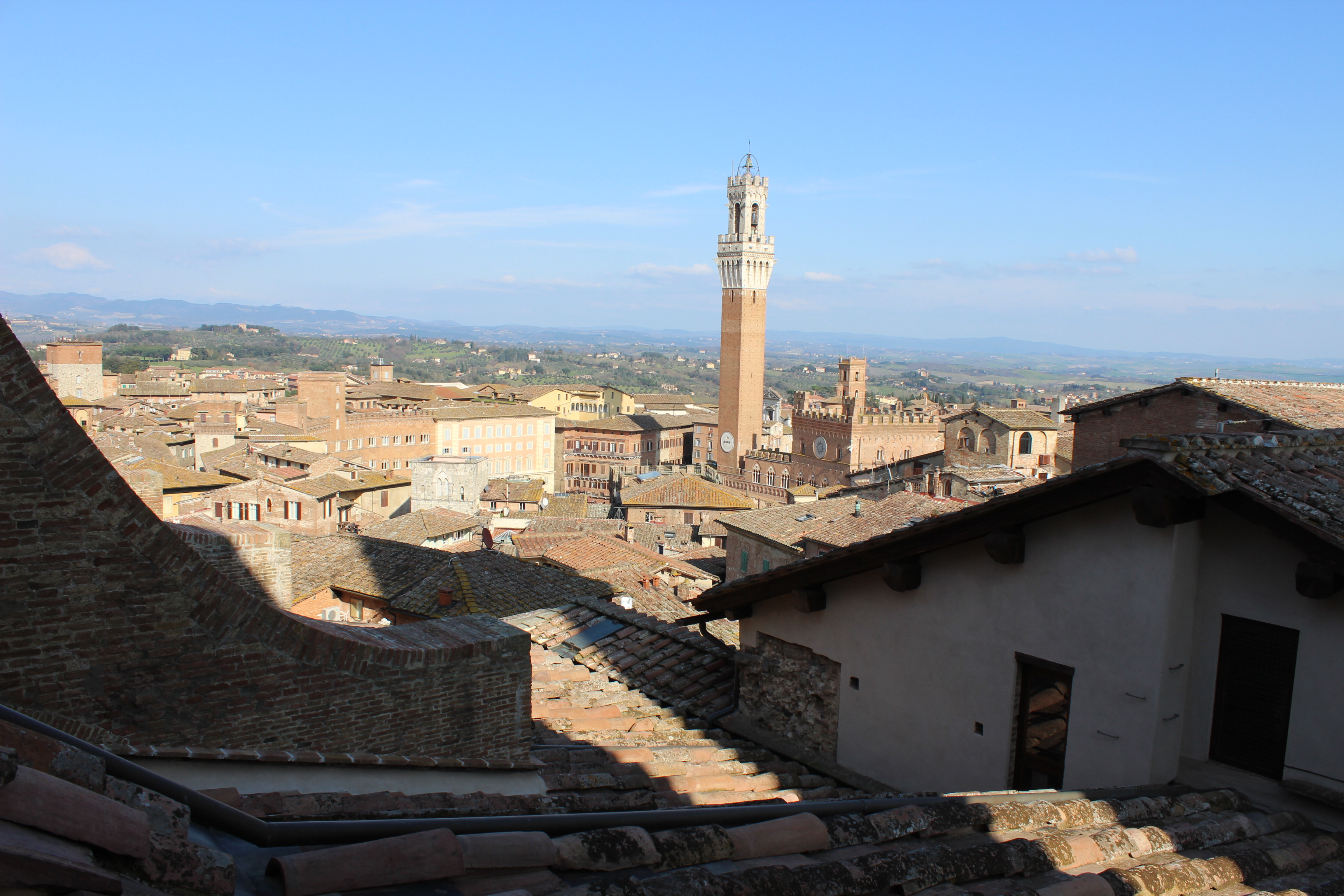 How I accidentally ended up in Business Class and got completely lost in Siena, Italy
