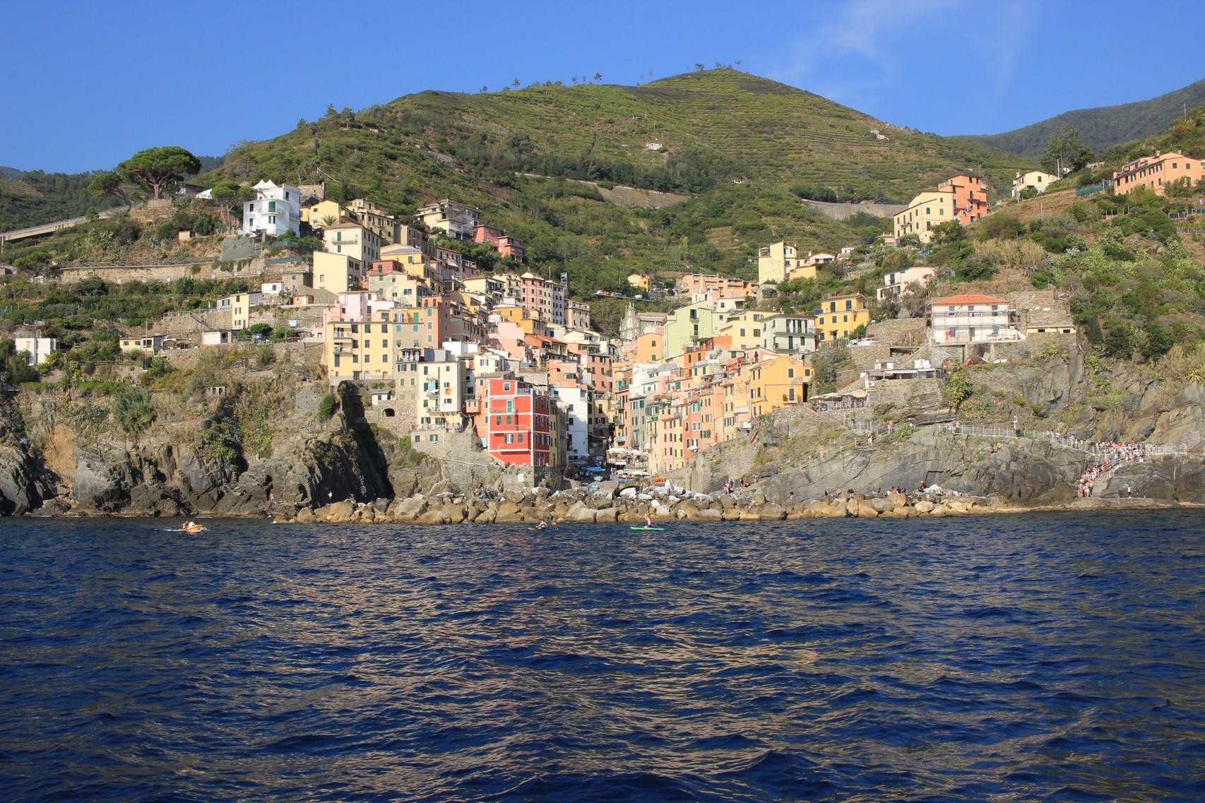 Boat trip to Vernazza, Cinque Terre