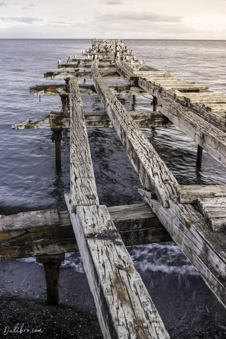 The old pier in Punta Arenas - one of the best photo spots in the city