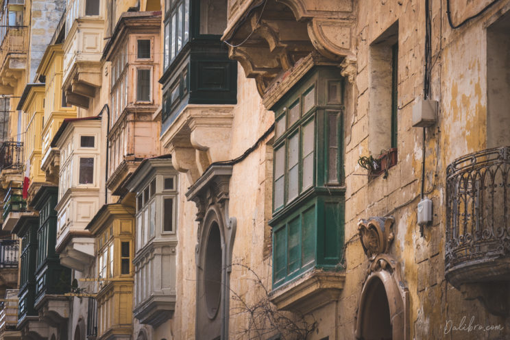 Balconies, balconies, they are all over the place and give unique character to the city!