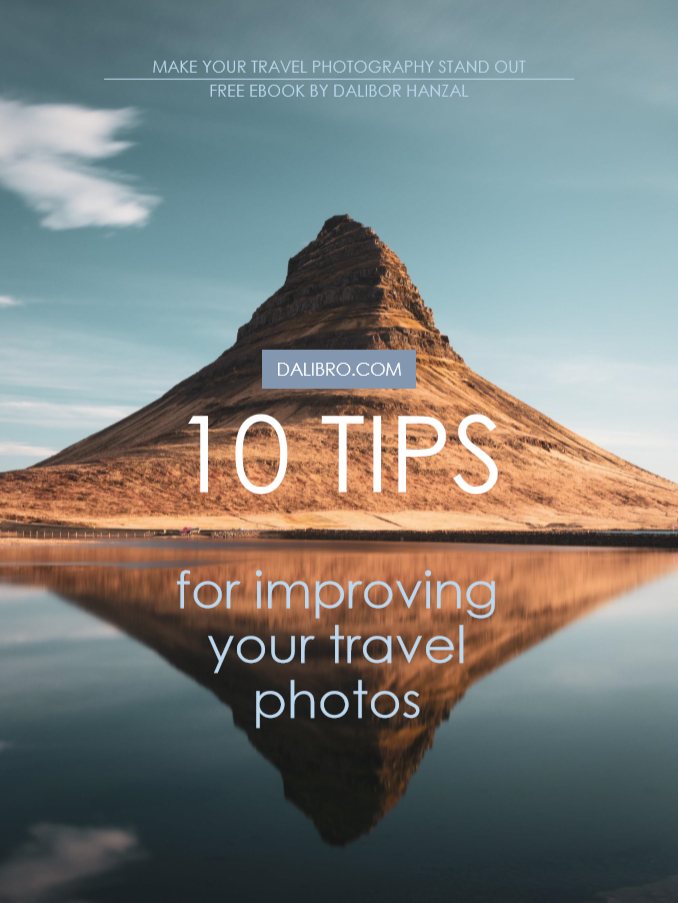 Dalibro's Free eBook 10 tips for improving your travel photos - sample page