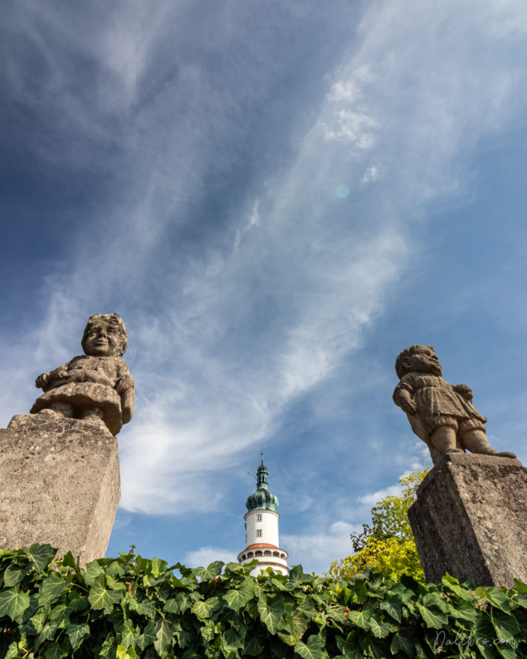 Nove Mesto nad Metuji - Castle Garden - another perspective