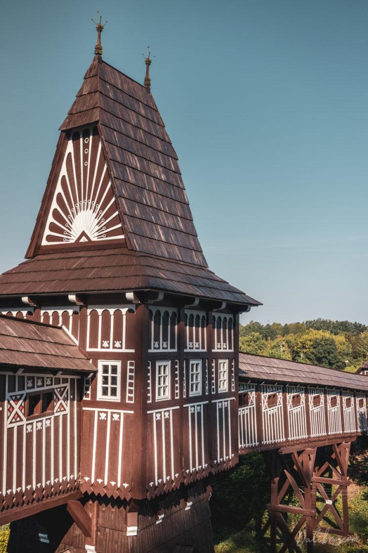 Jurkovic's Wooden Bridge, Nove Mesto nad Metuji