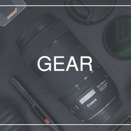 What's in my bag 2018 - my up-to-date travel photography gear