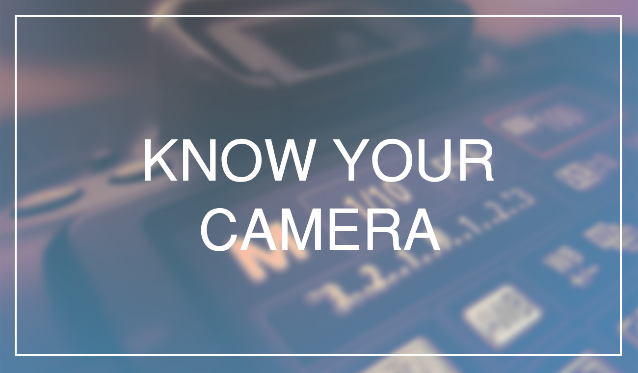 The Holy Trinity of Photography – Do you know your camera?
