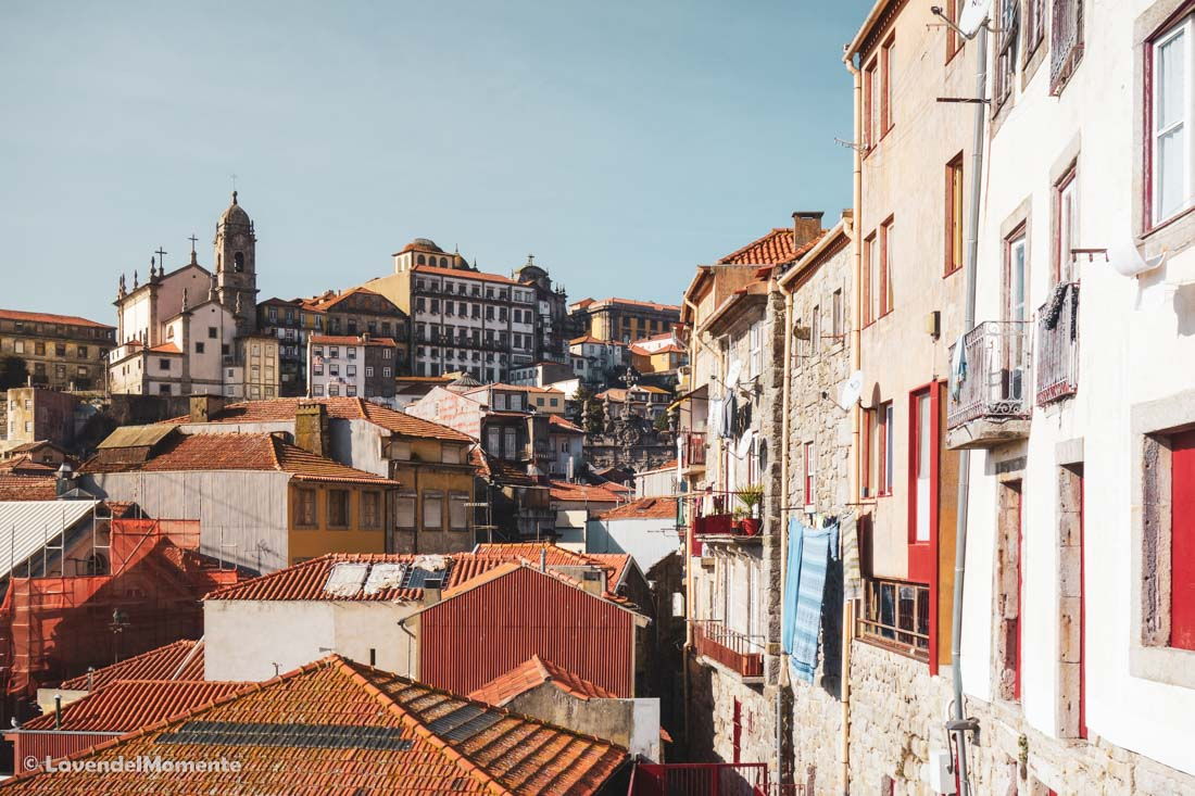 Another colourful view of Porto