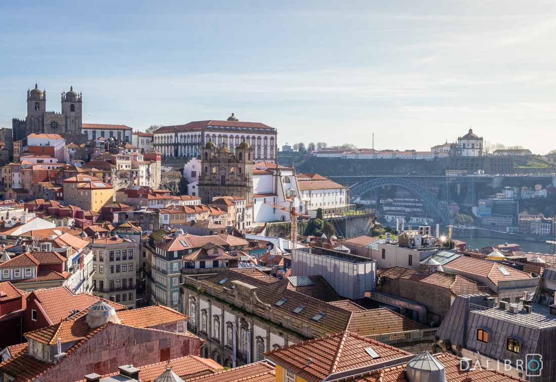 One of the best views of Porto's entire old town can be found right behind this church.