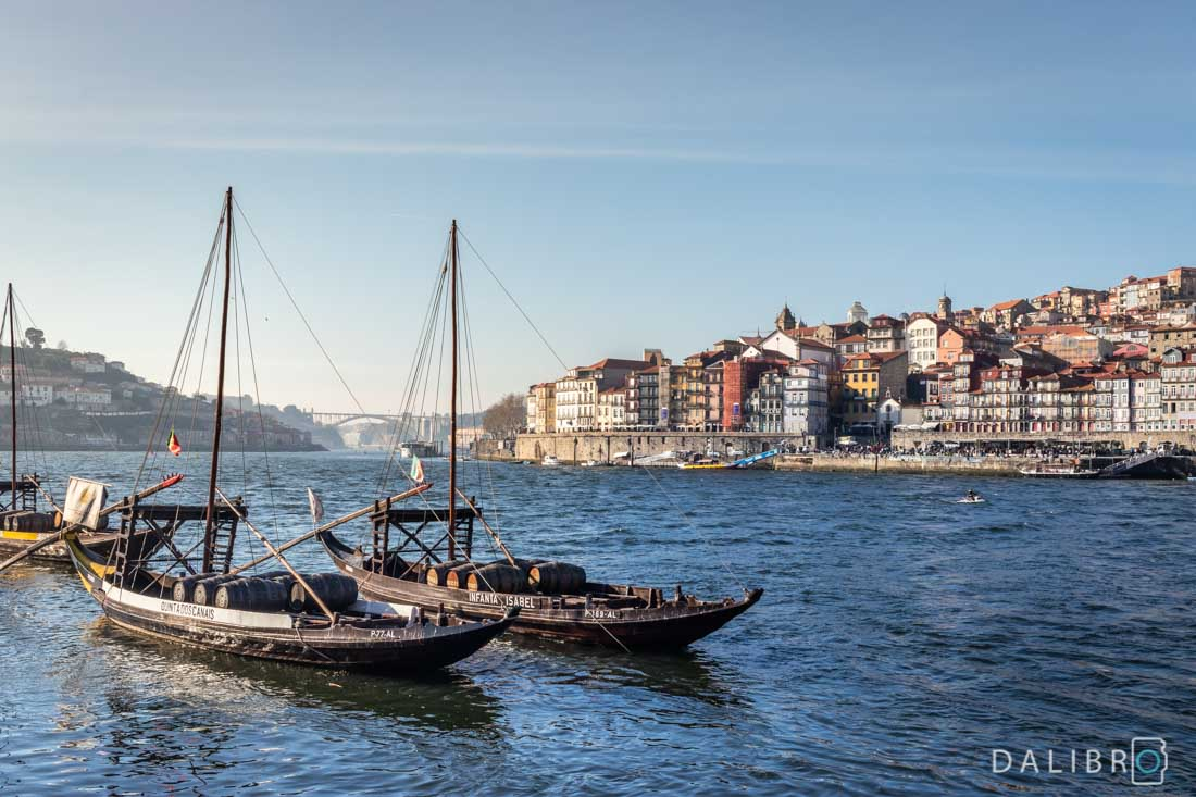 Douro river, boats, port wine cellars and stellar views - that's Gaia.