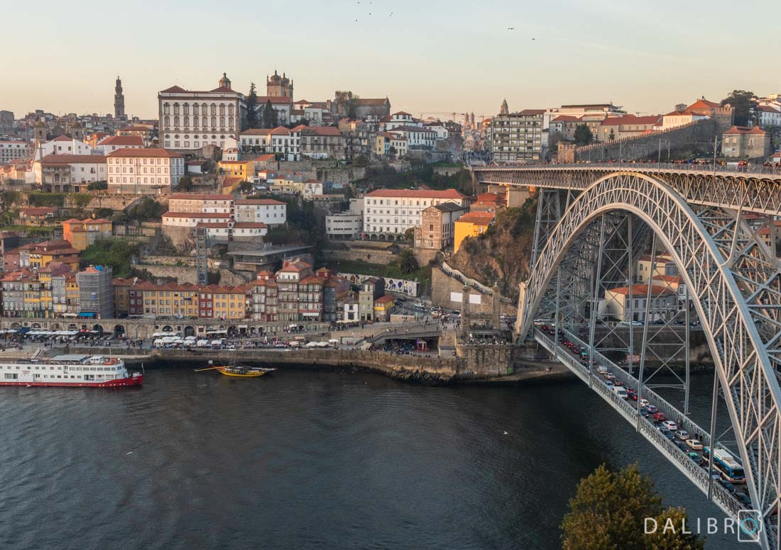 The old town of Porto, Portugal bathing in waaaaaarm light.