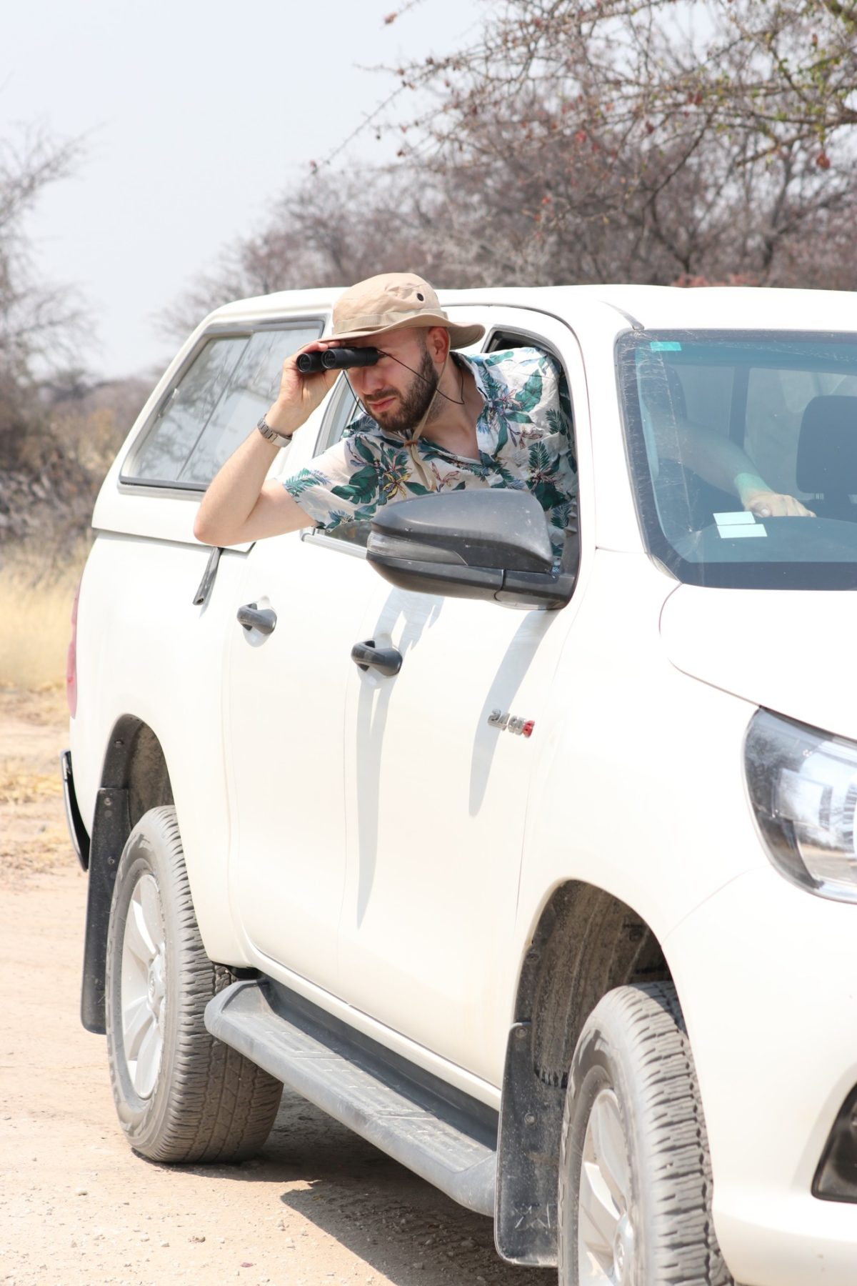 Driving like a photographer in Namibia
