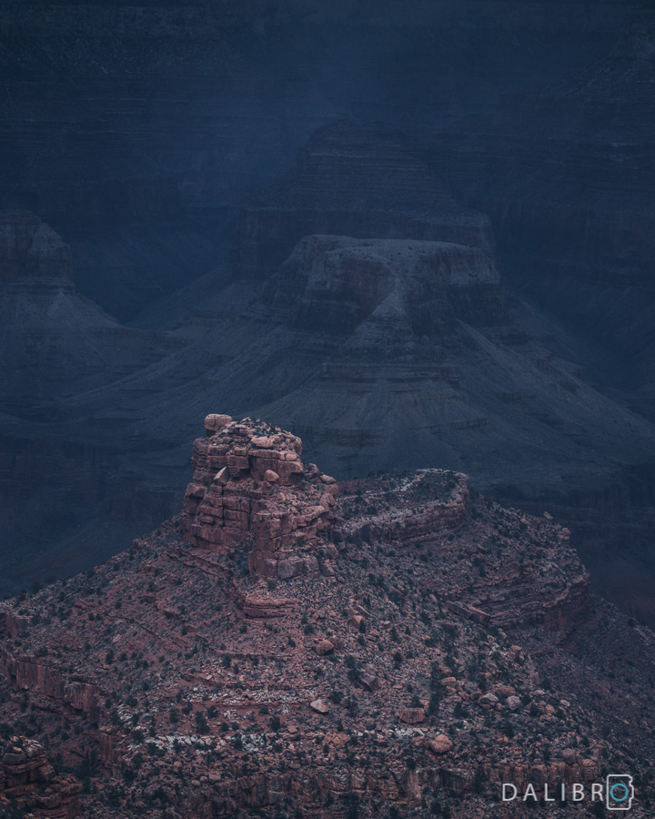 Storm in the Grand Canyon I - print for sale on fineartamerica by dalibro.