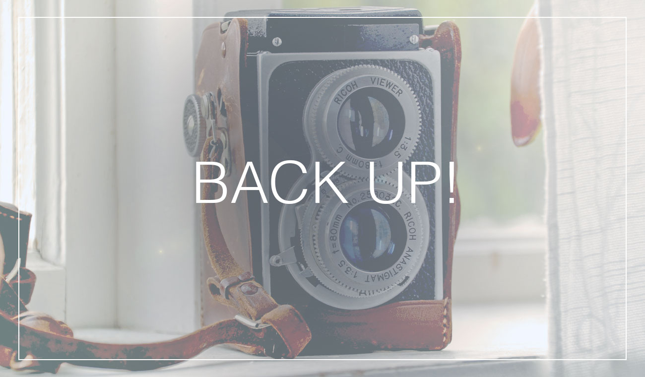 How to back up your photos and your Lightroom edits
