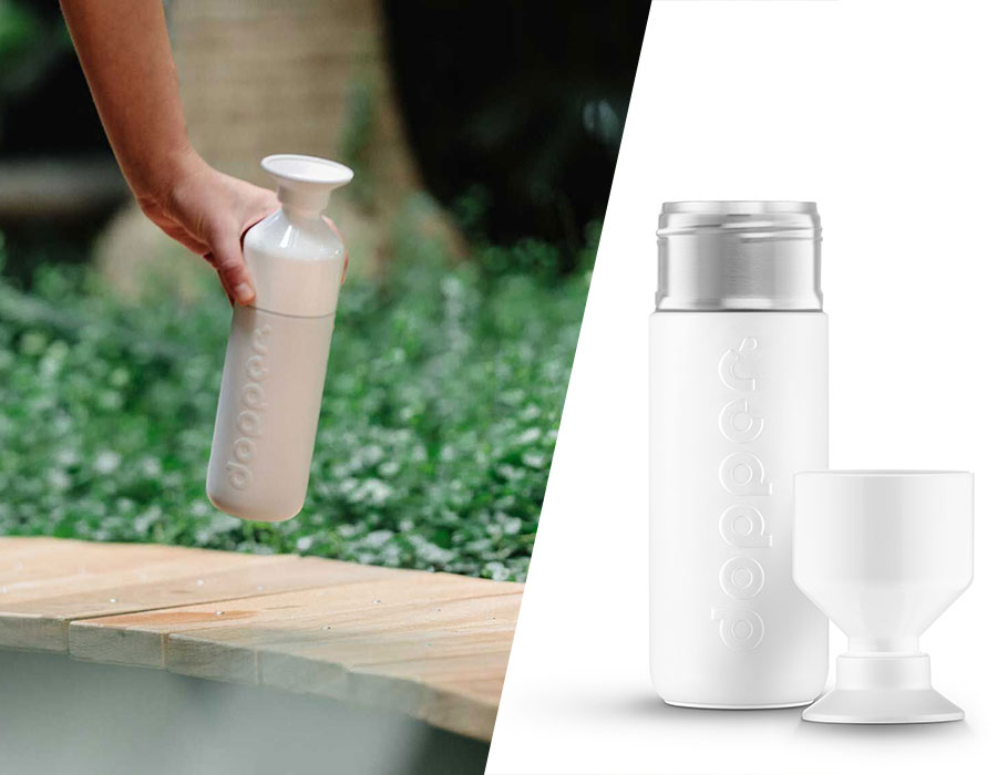 dopper bottle is great for drinking tap water