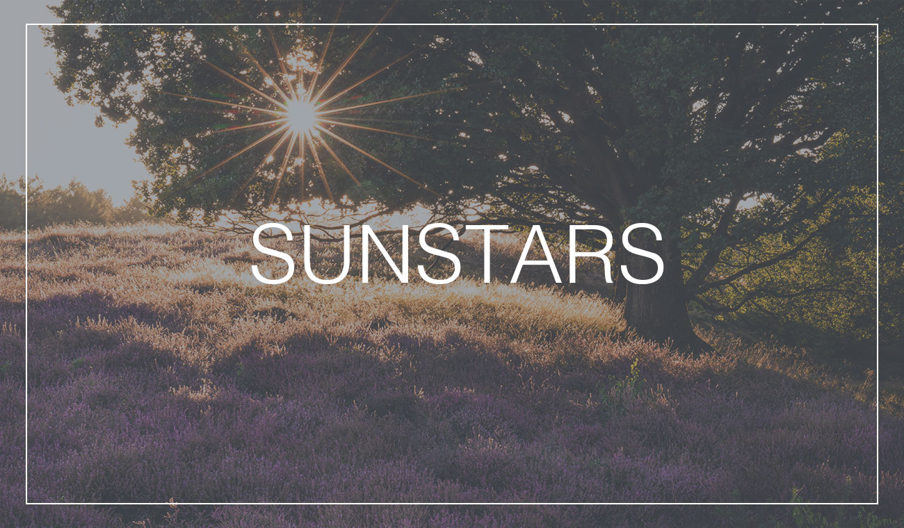 How to create sunstars in your landscape photos